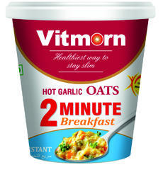 Instant Oats Masala Hot Garlic Cup