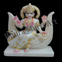 Marble Brahmani Devi Statue
