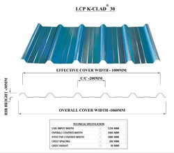 Metal Roofing Profiles for Industrial Roofing