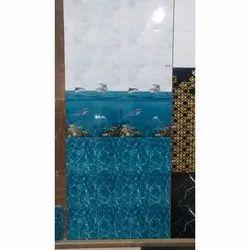 White And Blue Ceramic Bathroom Tiles