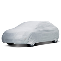 Car Body Cover-Silver