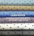 Land Rover Chambray Yarn Dyed Print