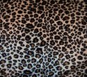 Coral Fleece Leopard Printed Fabric
