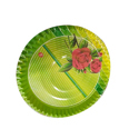 Round Printed Paper Plate
