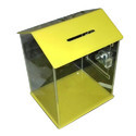 Hut Shape Acrylic Donation Box