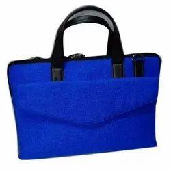 Blue Velvet Laptop Bag