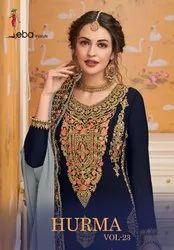 Eba Lifestyle Hurma Vol-23 Plazzo Style Salwar Kameez Catalog Collection at Textile Mall