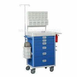 MI Blue Anesthesia Carts