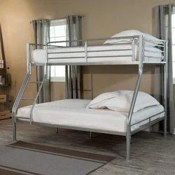 Silver Color Steel Bunker Bed