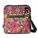 Floral Motif Crossbody Bag