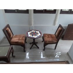 Wooden Table Chair Set