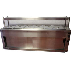 Silver Commercial Bain Marie, For Hotel,Restaurant
