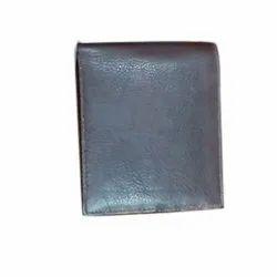 Aiesco Bags Male Men's Black Leather Wallet, Card Slots: 5