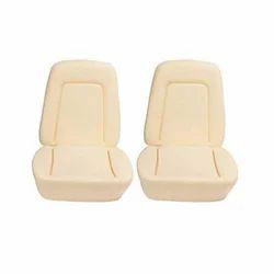 Creamy White Plain Car Seat Foam