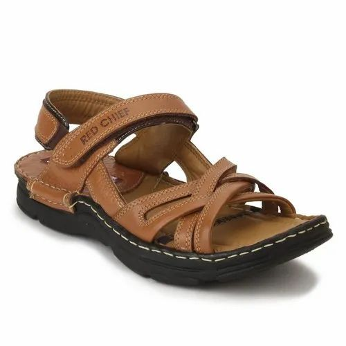 Red Chief Men Casual Sandal, Color