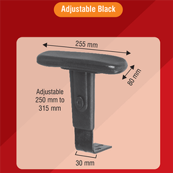 T Shaped Adjustable Chair Handle