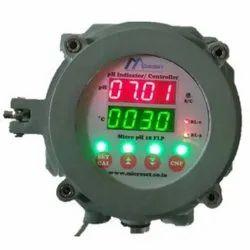 Microset 0.01 Digit: MS pH 18 Indicating Controller Cum Transmitter