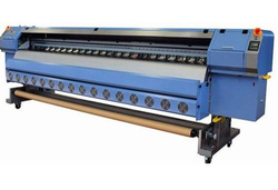 Konica Flex Digital Solvent Printing Machine