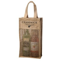 RB009 Jute Wine Bag