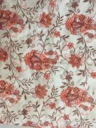 Paisley Embroidery Dhupiyan Fabric