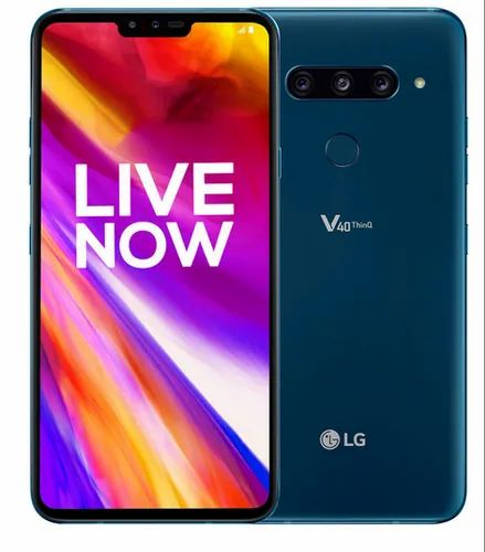 New Moroccan Blue(matt) LG V40 Thinq Mobile