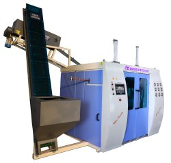 PET Stretch Blow Moulding Machine 6000 BPH 4 Cavity