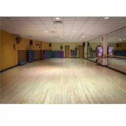 Wooden Aerobic Flooring Service