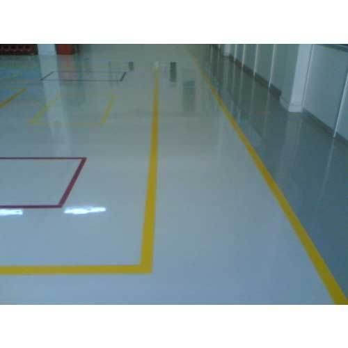 Glossy Epoxy Flooring Service