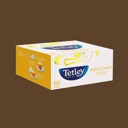 Tetley Flavour Tea Bags Lemon 50s