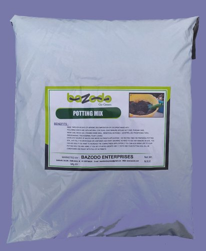 Bazodo Potting Mix Ready To Use (Red Soil  Coco Pith Vermi Compost  Humic Granules Cow dung)