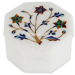 Inlay Design Marble Decorative Box