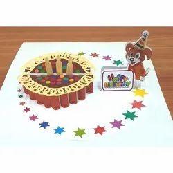 Digital Print Multicolor Birthday Greeting Card, Size: 4x6