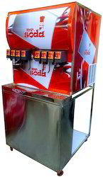 8 Flavor Soda Fountain Dispenser Machine