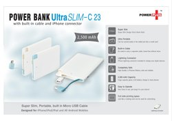 Credit Card Type Power bank