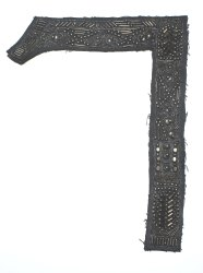 Black Beaded Patches