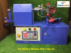 Fan Winding Machine Master 5 Die Table Model