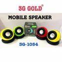 Usb Mobile Speaker, 3g -1054, 4 - 6 W