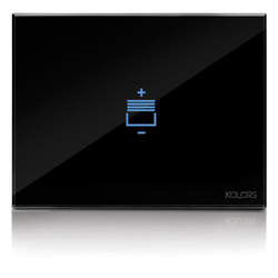 Single Phase Blind Control Touch Panel (Black & White)