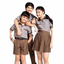 Checks Kids Check Printed School Uniform