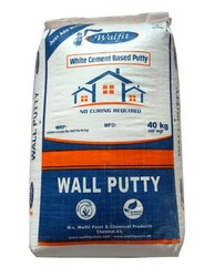 Walfit Paints White Cement Based Putty, Packaging Type: Hdpe Bag With Inner Liner, Packing Size: 40 Kg