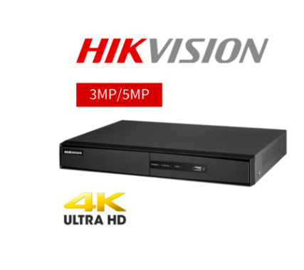 Hikvision Ds 7204huhi K1 Ultrahd (3mp 5mp) Dvr 4ch