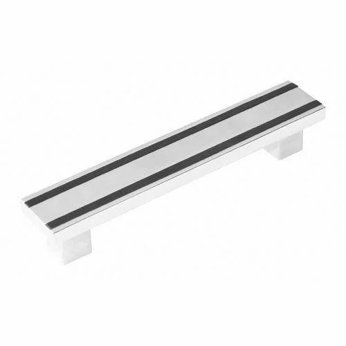 Ripple Aluminium Door Handle, Rs 117 /piece, Poonam Manufacture | ID ...