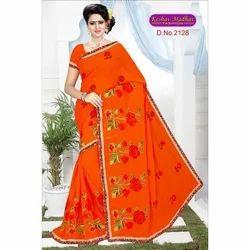 Designer Floral Saree