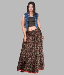 Block Printed Skirt