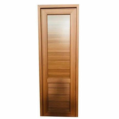 Brown Wooden Bathroom Door Rs 220, Wooden Bathroom Doors