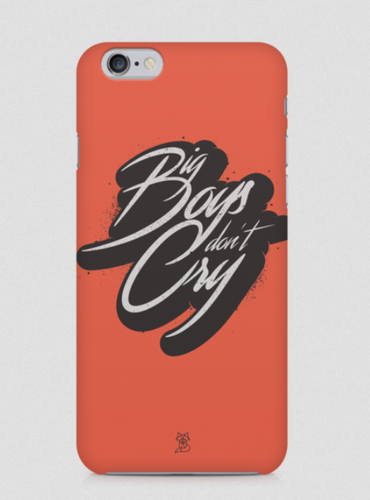 low priced b394f 4fe05 Big Boys Dont Cry Phone Case