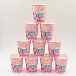 Paper Designer Cup, Packet Size (Pieces): 50 Pieces
