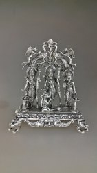 Silver Ram Darbar Statue