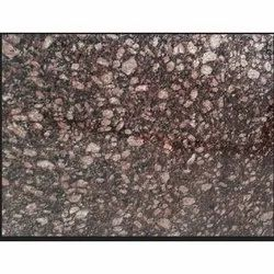 Brown Polished Commando Granite Slab, For Flooring, Thickness: 15-20 mm