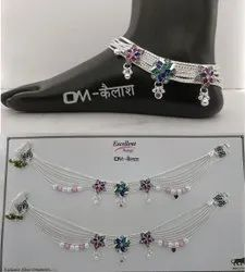 Wedding Silver Payal
